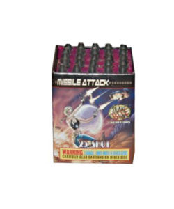 25 Shot Missile Attack